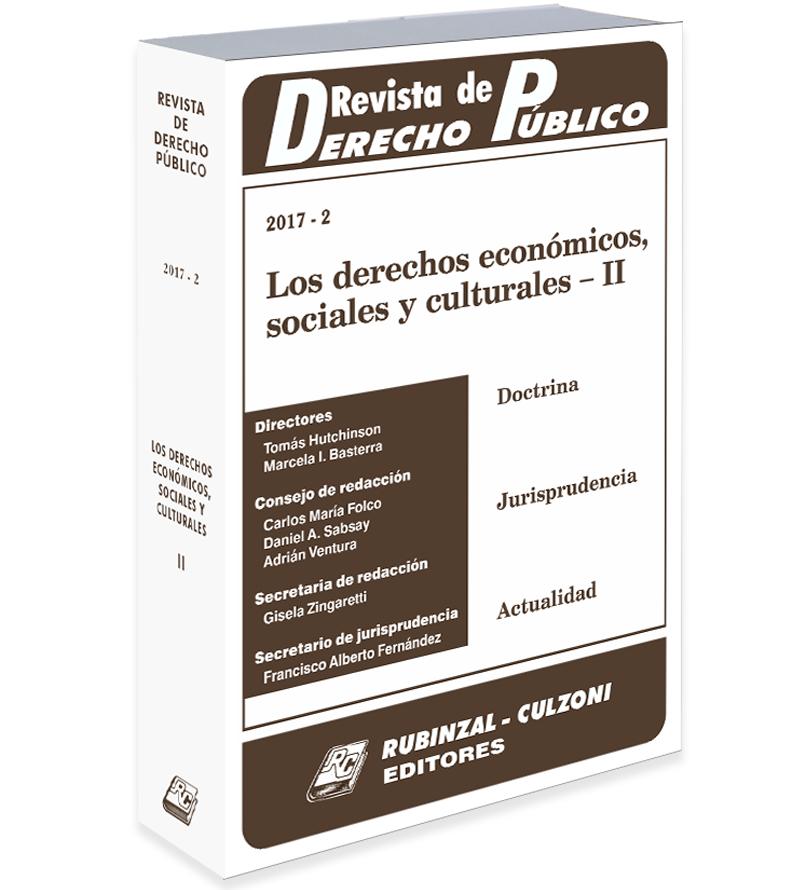 Revista De Derecho Pblico Tienda Online Rubinzal Culzoni Editores