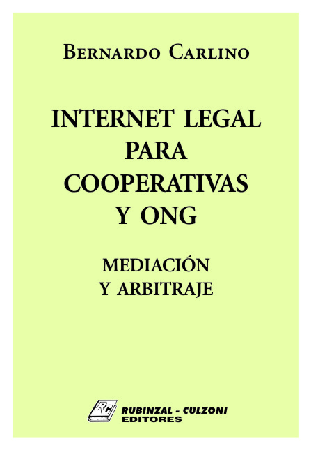 Internet Legal para Cooperativas y ONG