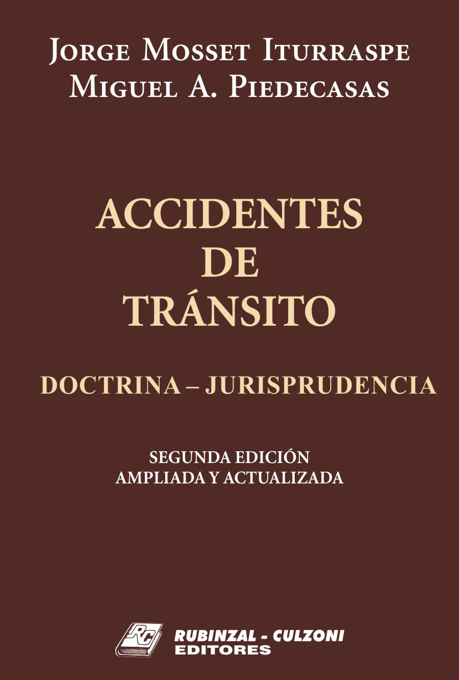 Accidentes de tránsito (Doctrina - Jurisprudencia).